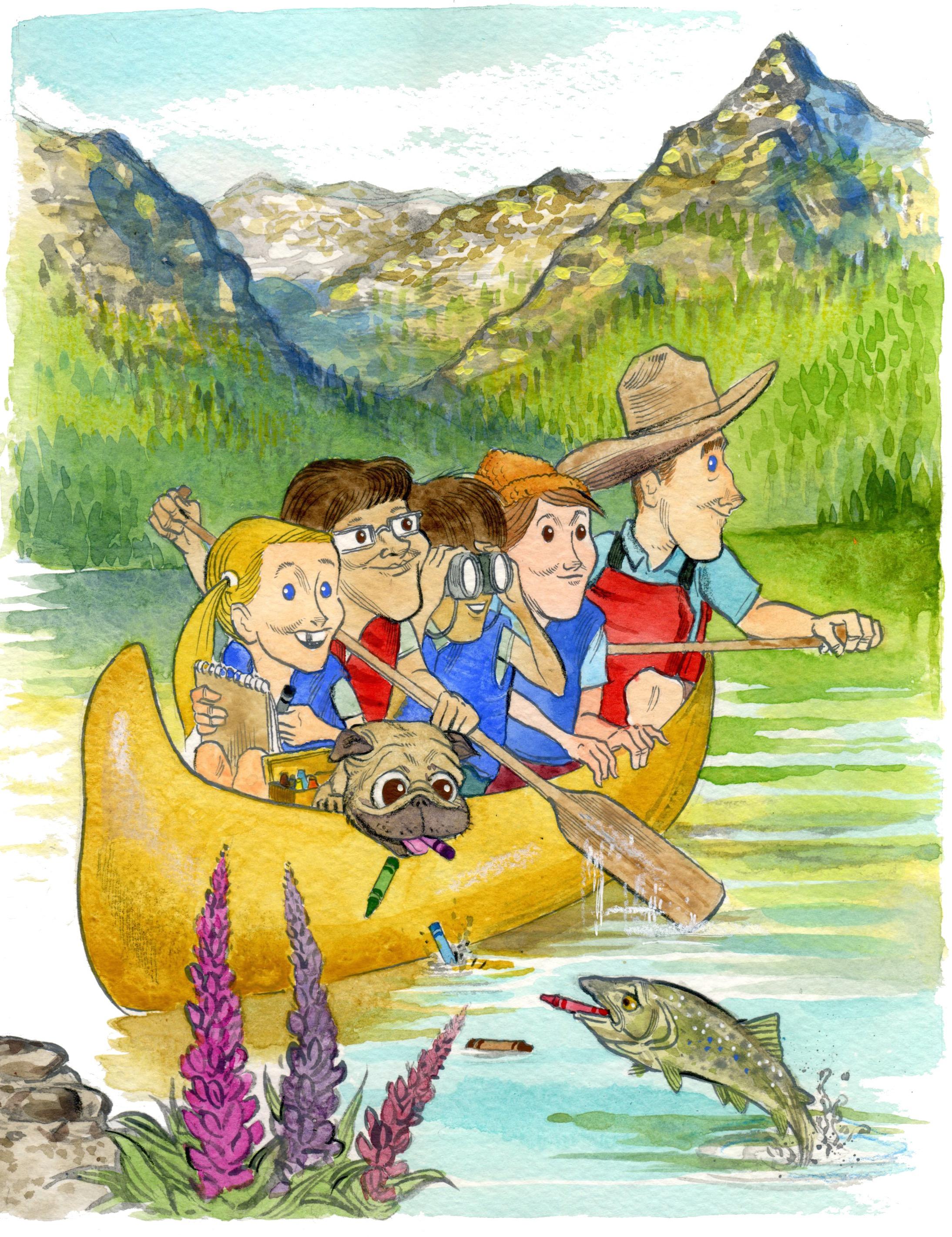 Canoeing the Rockies