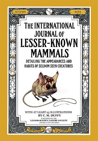 natural history book cover design
