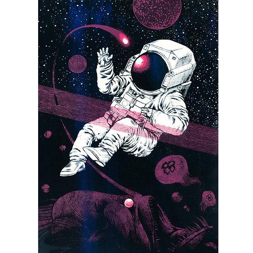 Space Fish - Black