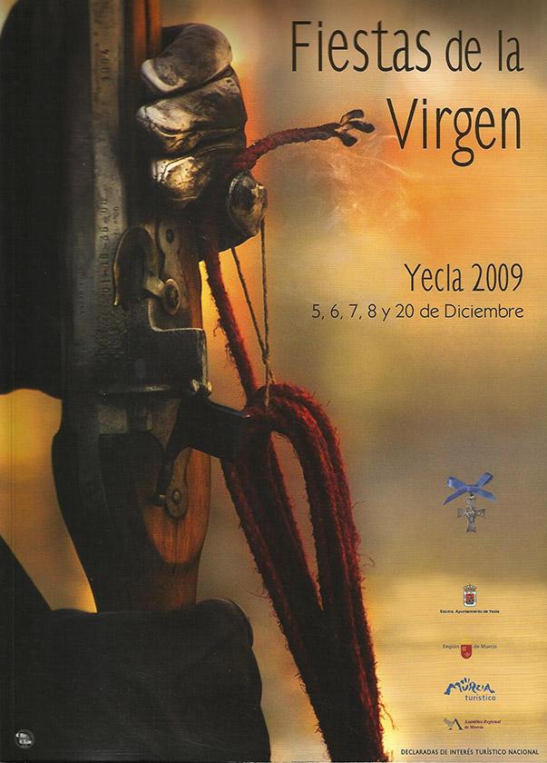 Cartel Fiestas de la Virgen año 2009