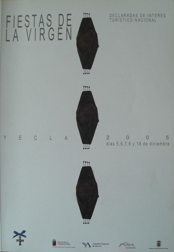 Cartel Fiestas de la Virgen año 2005