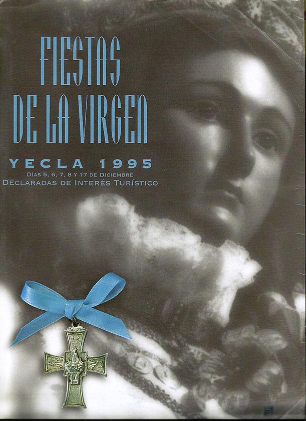 Cartel Fiestas de la Virgen año 1995
