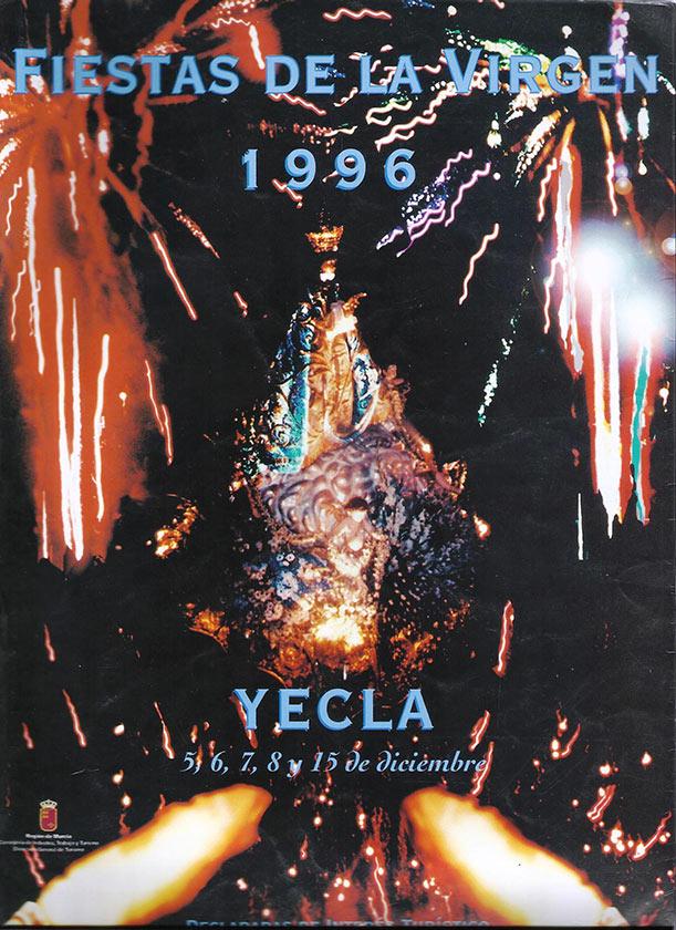 Cartel Fiestas de la Virgen año 1996
