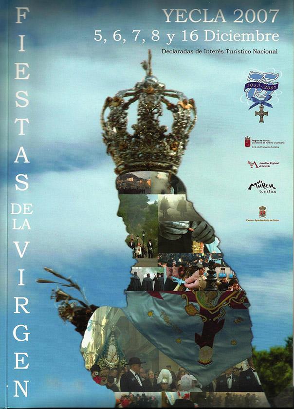 Cartel Fiestas de la Virgen año 2007