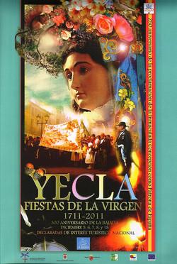 Cartel Fiestas de la Virgen año 2011