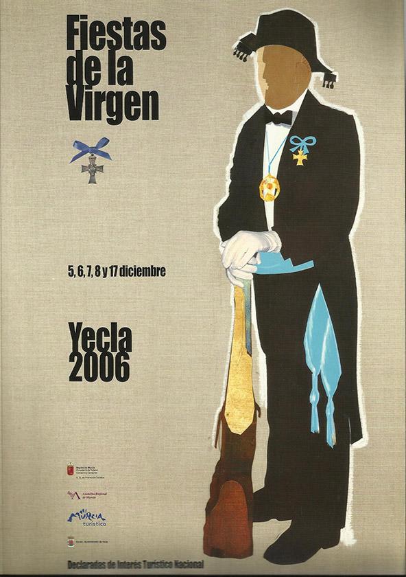 Cartel Fiestas de la Virgen año 2006