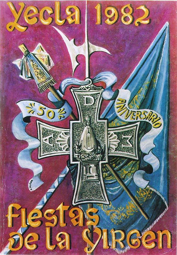 Cartel Fiestas de la Virgen año 1982