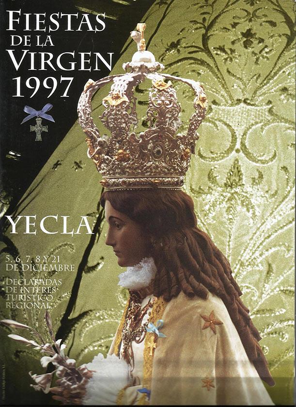 Cartel Fiestas de la Virgen año 1997