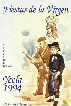 Cartel Fiestas de la Virgen año 1994