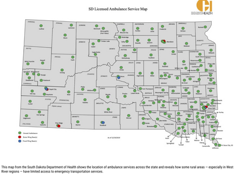 Viability of rural ambulance services in S.D. at risk due to staffing and funding shortages
