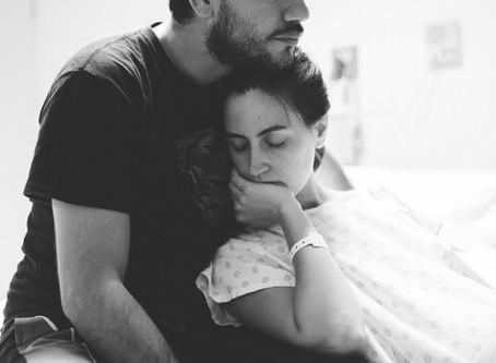 El apoyo del papá en el parto, ¿una moda?