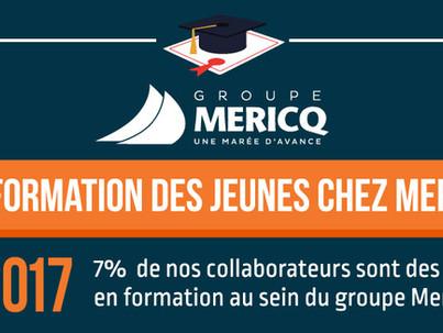 Retour sur l'année 2017 : La formation des jeunes chez Mericq