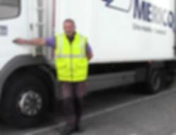 Le chauffeur-livreur Groupe Mericq