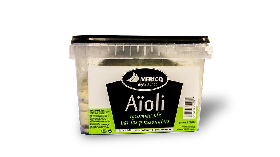 Sauces (Mayonnaise, Aïoli - 2.5 KG)