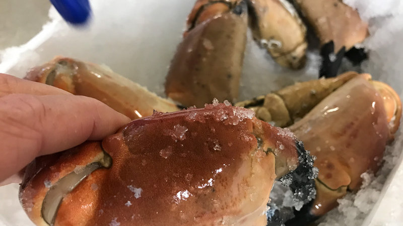 Pinces de crabes cuites (400G)