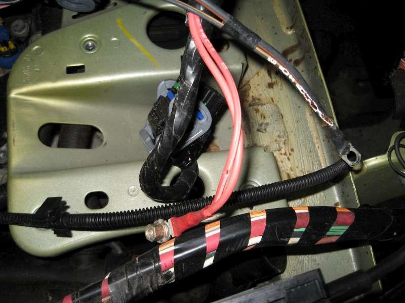 Motorbedrading is op verschillende plaatsen beschadigd of doorgebeten.
