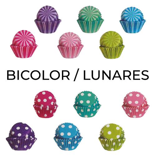 Capacillos Bicolor/Lunares