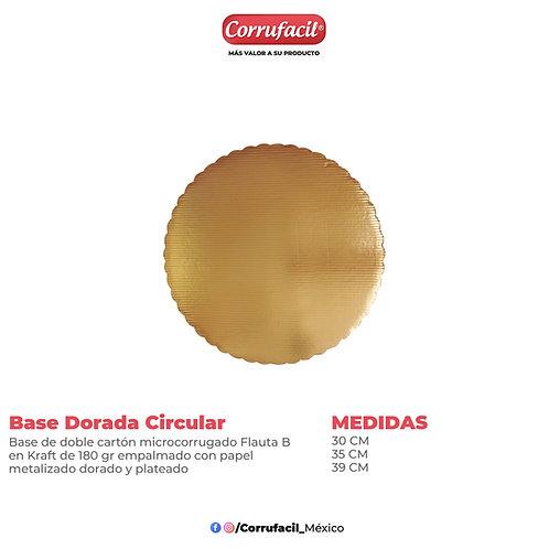 Base Dorada Circular
