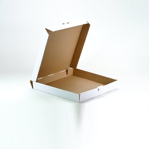 Caja para Pizza Blanca