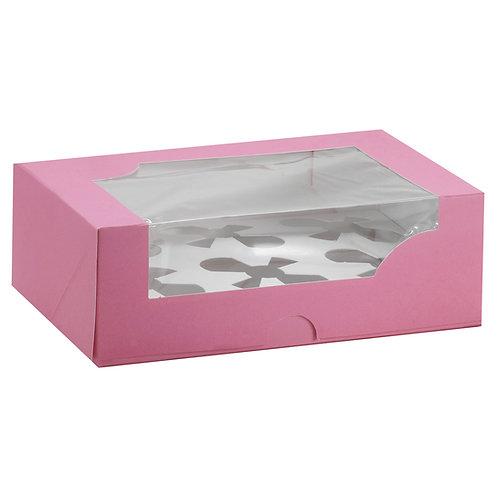 Caja para cupcake 6 piezas