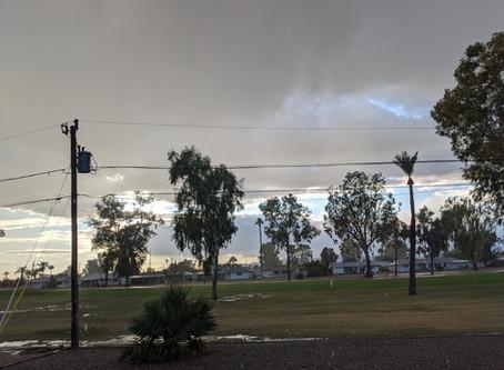 Rain in Arizona!!!