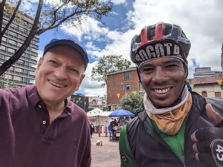 Bogota Bike Tours Day 2 to Parque Simon Bolivar