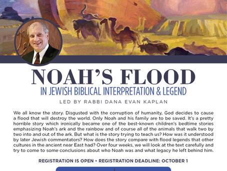 Noah's Ark course starting next week