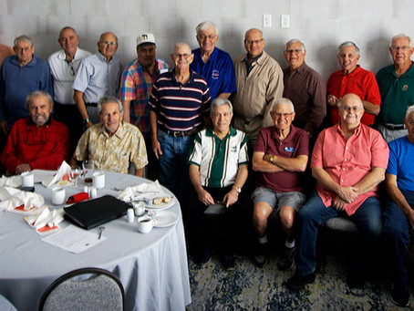 Brotherhood breakfast at the Hilton Garden Inn in Surprise, Arizona