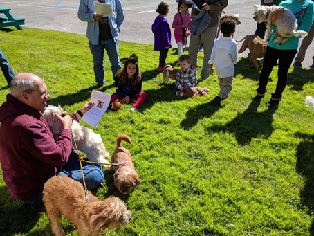 Our Third Annual Pet Blessing