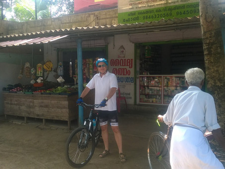 My Bicycle Trip To India