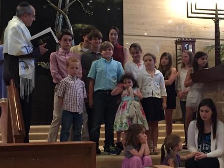 Children's Hanukkah Service