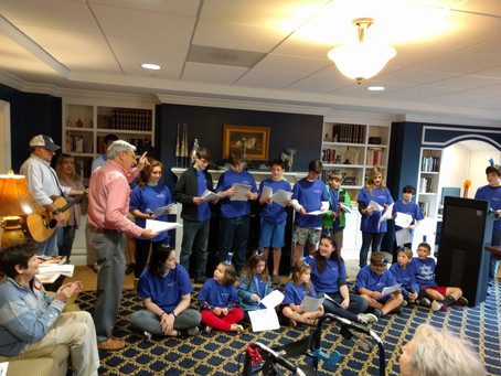 Religious School Performs Hanukkah Play at Somerby