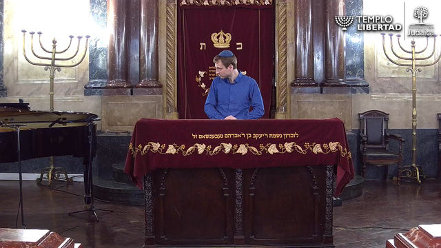 Templo Libertad Shabbat Segment Sent to Us