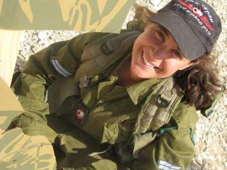 Ofir Serving in the IDF