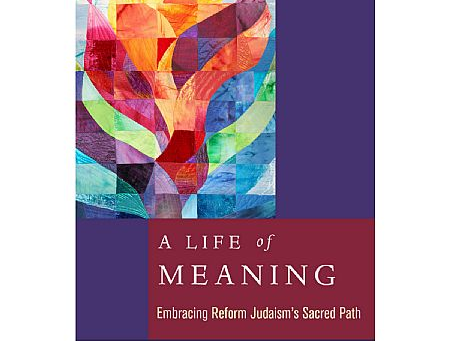 "A Life of Meaning Named CCAR Press ""Book of the Month"""