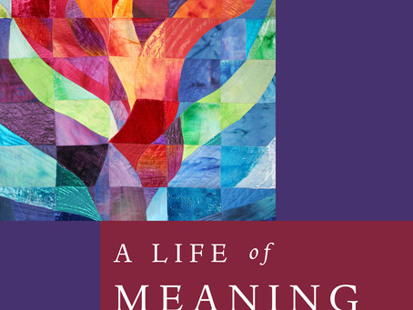 My Newest Book has just been published! A Life of Meaning: Embracing Reform Judaism's Sacred Pat