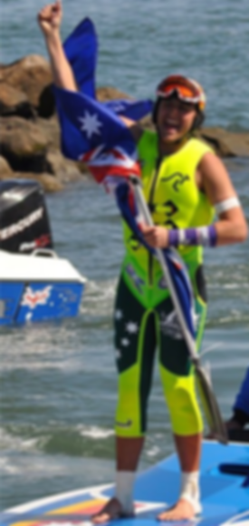 waterski racing, water ski racing world champion