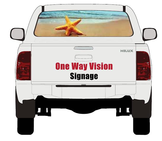 Standard Van Signage