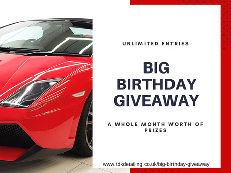 The BIG Birthday Giveaway!