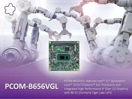 포트웰코리아, 인텔11세대 Com Express module 출시(PCOM-B656VGL)