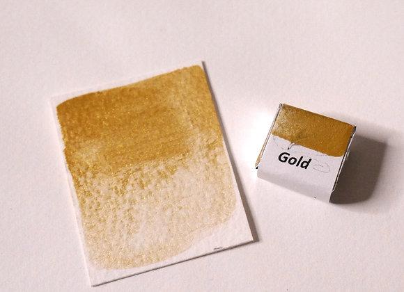 Gold Handmade Watercolour Paint