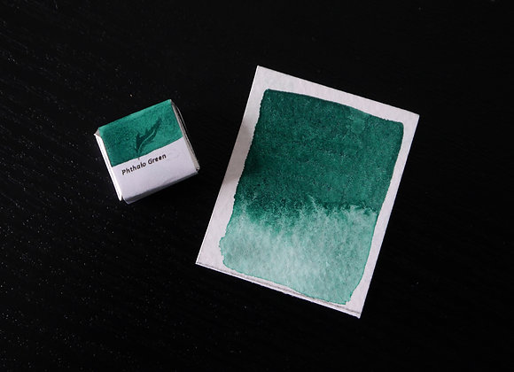 Phthalo Green | Handmade Watercolour Paint