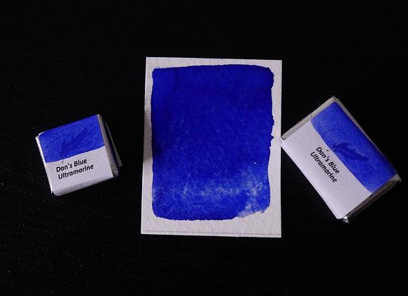 Dan's Blue Ultramarine | Handmade Watercolour Paint
