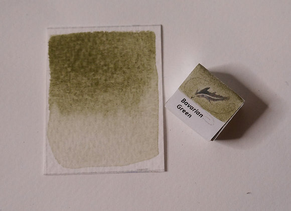 Bavarian Green Handmade Watercolour Paint