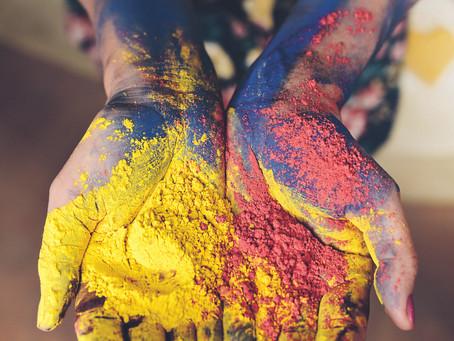 The Power of colours - färgkraft!