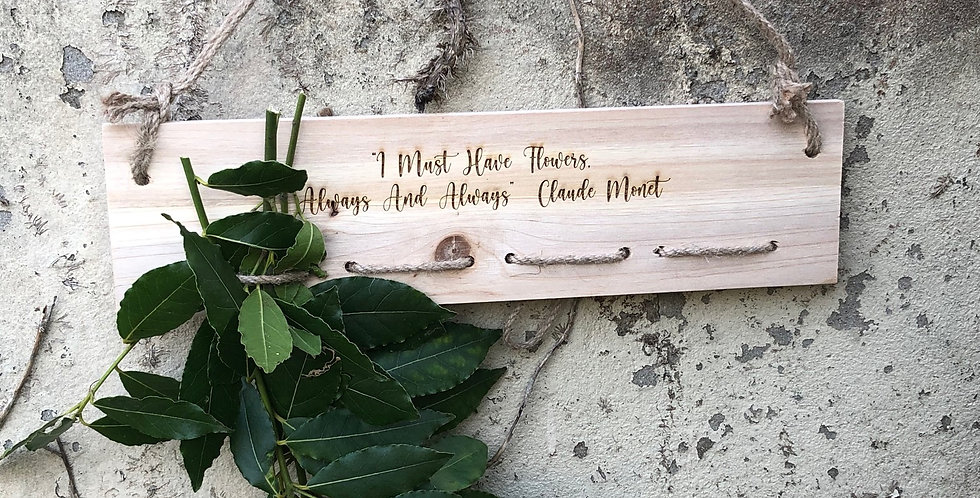Personalised Wooden Herb and Flower Dryer Hanger