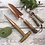 Thumbnail: Set of 3 Copper Plated Garden Tools