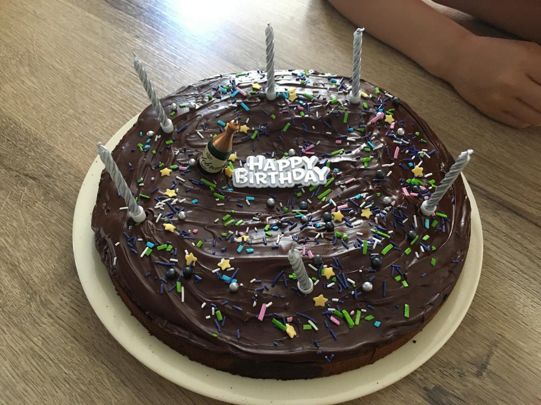 Nikolas S Birthday Cake 2