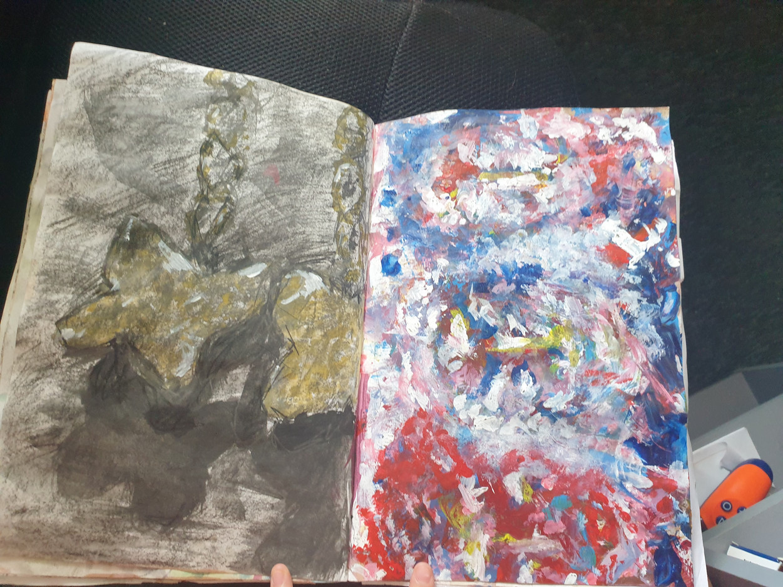 Reece C Sketchbook 5