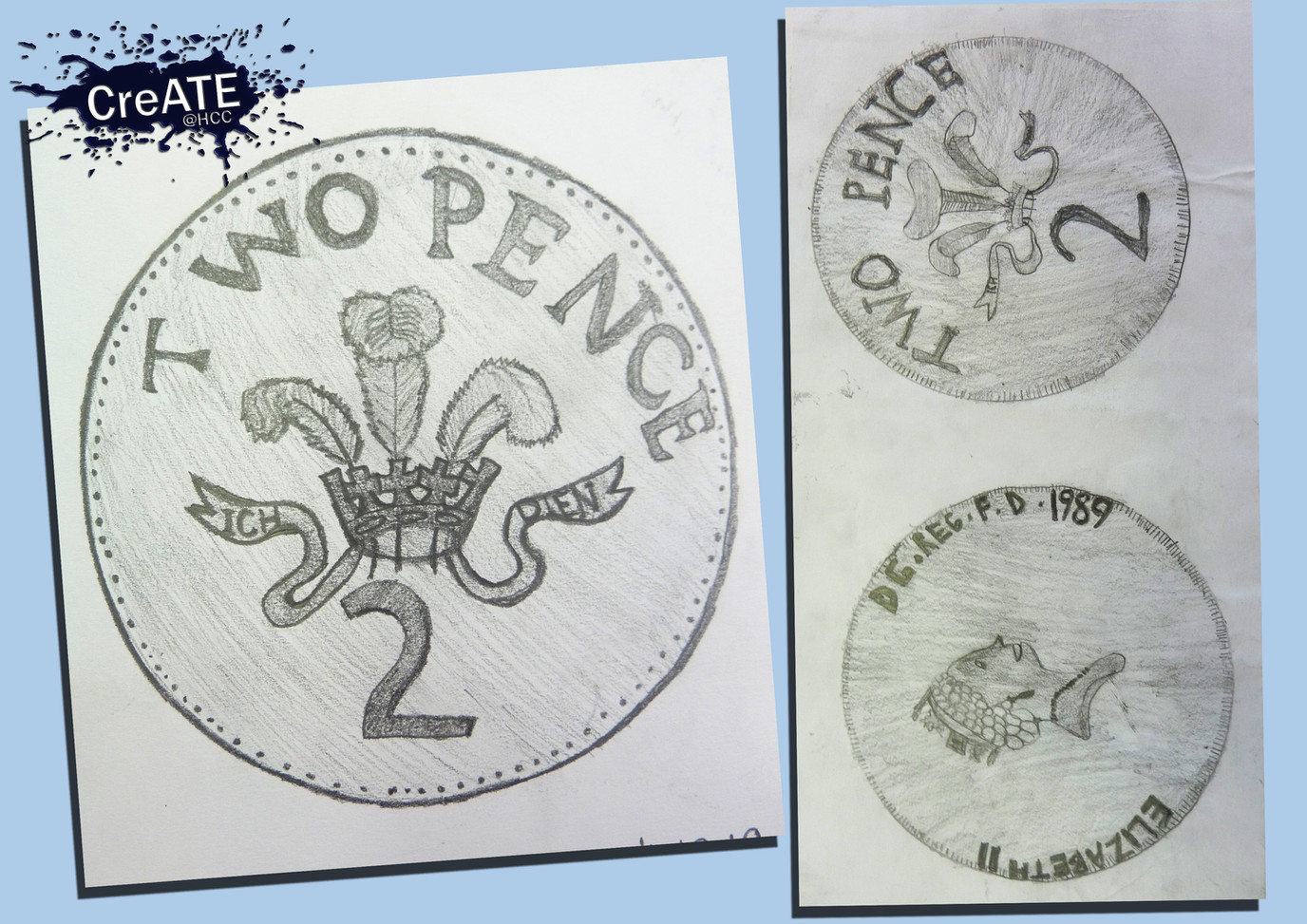 Year 7 Coin Sketches